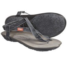 Lizard Nes Sandals (For Women) in Smoke - Closeouts