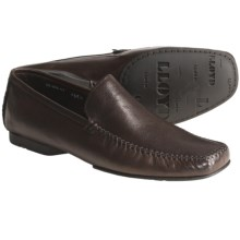 Lloyd Shoes Eiko Leather Shoes - Venetian Slip-Ons (For Men) in Dark Brown - Closeouts