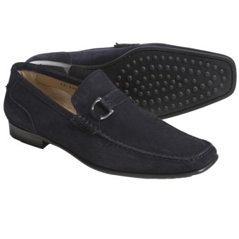 Lloyd Shoes Ercas Shoes - Suede, Slip-Ons (For Men) in Navy