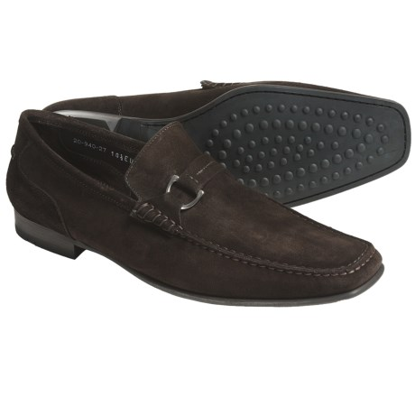 Lloyd Shoes Ercas Shoes - Suede, Slip-Ons (For Men) in Dust Tan