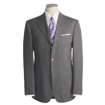 Lochlane by Thomas Dean Sport Coat - Suede Elbow Patches (For Men) in Grey