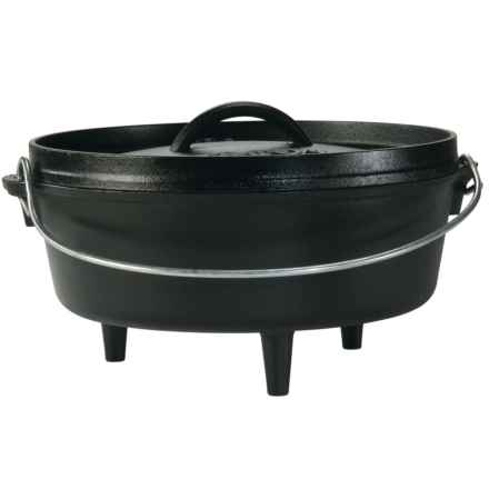 Lodge Camp Dutch Oven - 4 qt. in See Photo - Overstock