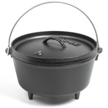 Lodge Deep Camp Dutch Oven - Cast Iron, 5 qt. in See Photo - Closeouts
