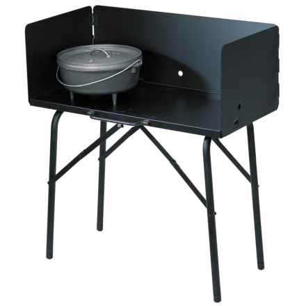 Lodge Outdoor Cooking Table in See Photo - Closeouts