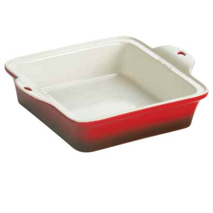 """Lodge Stoneware Baking Dish - 8x8"""" in Red - Closeouts"""