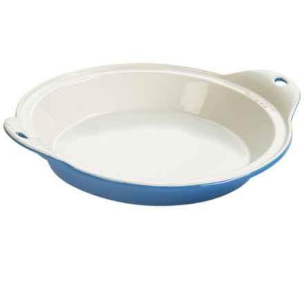 "Lodge Stoneware Baking Dish - 9.5"" in Blue - Closeouts"