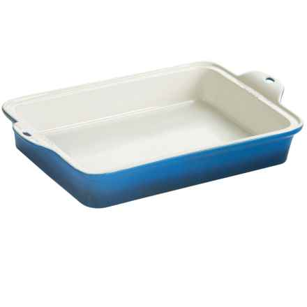 "Lodge Stoneware Baking Dish - 9x13"" in Blue - Closeouts"