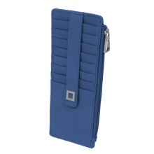Lodis Artemis RFID Protected Credit Card Case (For Women) in Blue - Closeouts
