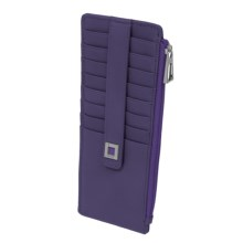 Lodis Artemis RFID Protected Credit Card Case (For Women) in Purple - Closeouts