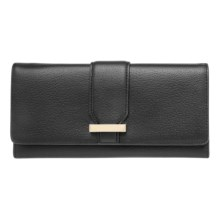 Lodis Audrey Alix Trifold Wallet (For Women) in Black - Closeouts