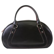 Lodis Audrey Beverly Bowler Purse - Leather (For Women) in Black - Closeouts
