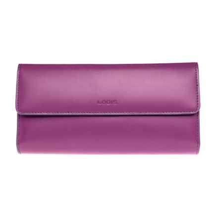Lodis Audrey Checkbook Clutch (For Women) in Plum/Indigo - Closeouts