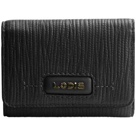 Lodis Audrey Mallory French Purse (For Women) in Cordoba Black - Closeouts