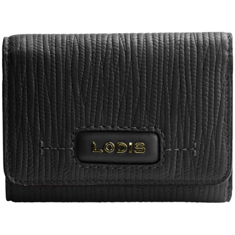 Lodis Audrey Mallory French Purse (For Women) in Cordoba Black