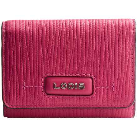 Lodis Audrey Mallory French Purse (For Women) in Fuchsia - Closeouts