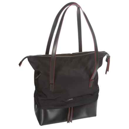 Lodis Barbara Commuter Tote Bag (For Women) in Black - Closeouts
