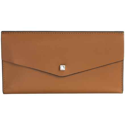 Lodis Blair Collection Amanda Continental Clutch (For Women) in Toffee/Taupe - Closeouts