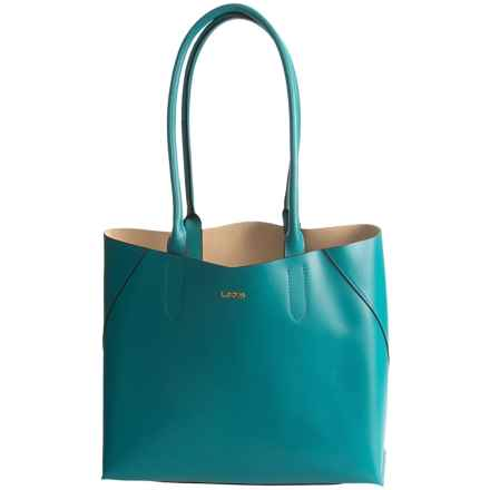 Lodis Blair Collection Cynthia Tote Bag - Leather in Ivy - Closeouts