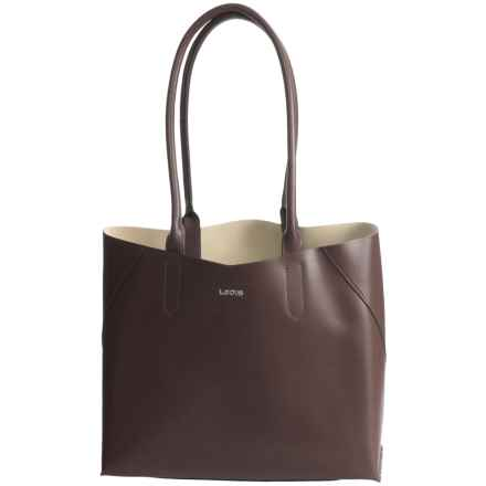 Lodis Blair Collection Cynthia Tote Bag - Leather in Lake - Closeouts
