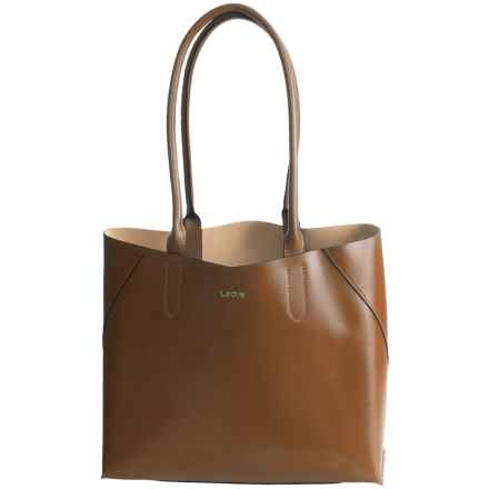 Lodis Blair Collection Cynthia Tote Bag - Leather in Toffee/Taupe - Closeouts
