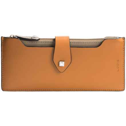 Lodis Blair Collection Sandy Multi-Pouch Wallet (For Women) in Toffee/Taupe - Closeouts