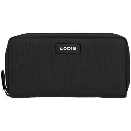 Lodis Cordoba Ada Zip Wallet (For Women) in Black - Closeouts