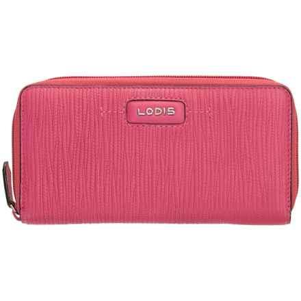 Lodis Cordoba Ada Zip Wallet (For Women) in Fuchsia - Closeouts