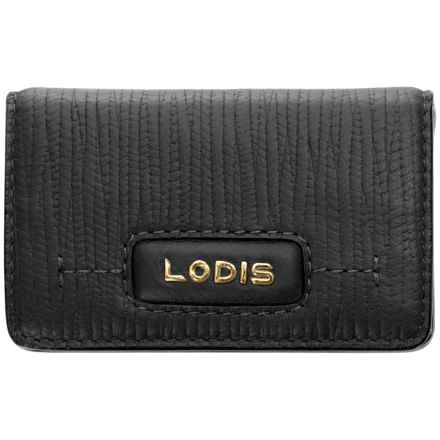 Lodis Cordoba Mini Card Case (For Women) in Black - Closeouts