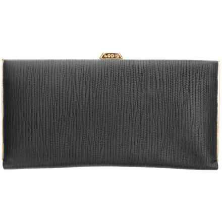 Lodis Cordoba Quinn Clutch Wallet (For Women) in Black - Closeouts