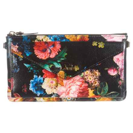 Lodis Envelope Wallet Purse - Crossbody (For Women) in Floral - Closeouts
