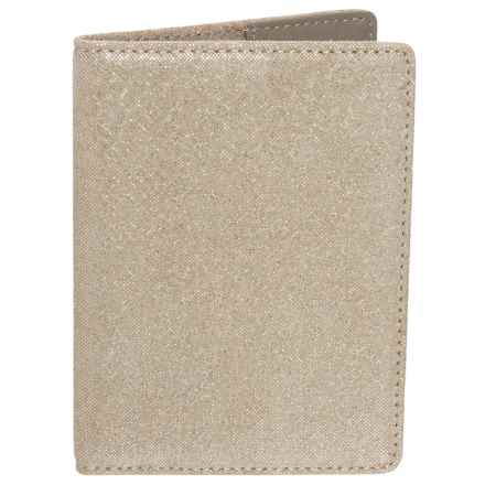 Lodis Leather Passport Cover (For Women) in Gold - Closeouts
