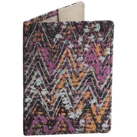 Lodis Leather Passport Cover (For Women) in Multi - Closeouts