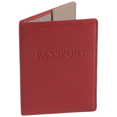 Lodis Leather Passport Cover (For Women)