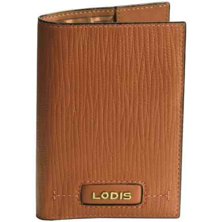 Lodis Leather Passport Cover (For Women) in Toffee - Closeouts