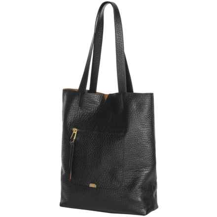 Lodis Madia Large Tote Bag - Leather (For Women) in Black - Closeouts