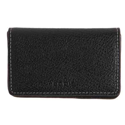 Lodis Mini Card Case - Leather (For Women) in Black - Closeouts