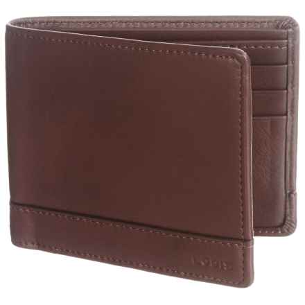 Lodis RFID Bi-Fold Wallet - Leather in Brown - Closeouts