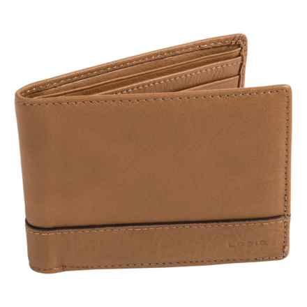 Lodis RFID Bi-Fold Wallet - Leather in Tan - Closeouts