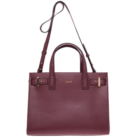 Lodis Tara Leather Satchel (For Women)