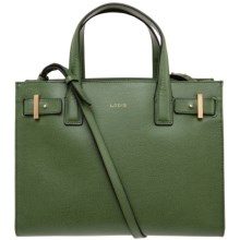 Lodis Tara Leather Satchel (For Women) in Green - Closeouts