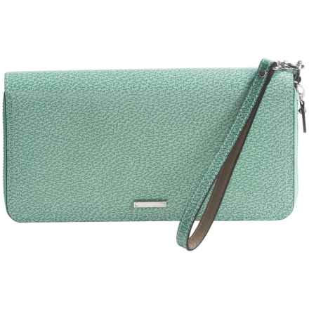 Lodis Vera Wristlet Wallet - Italian Leather (For Women) in Ocean - Closeouts