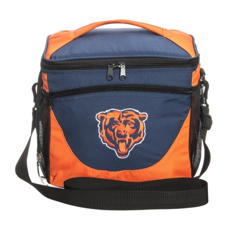 Logo Brands 24-Can Cooler - Bears in Chicago Bears