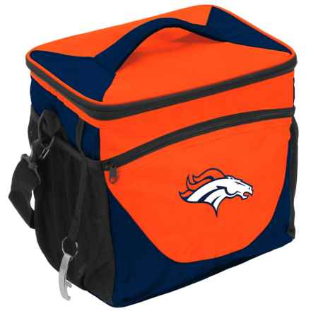 Logo Brands 24-Can Cooler - Broncos in Broncos - Closeouts