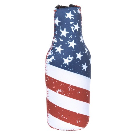 Logo Brands American Flag Bottle Wrap in American Flag