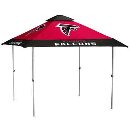 Logo Brands Atlanta Falcons Pagoda Canopy - 10x10'