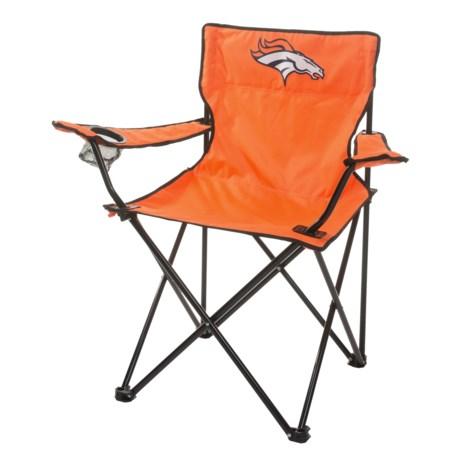 Logo Brands Broncos Quad Chair in Broncos
