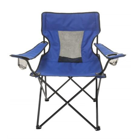 Logo Brands Plain Royal Elite Chair in Royal
