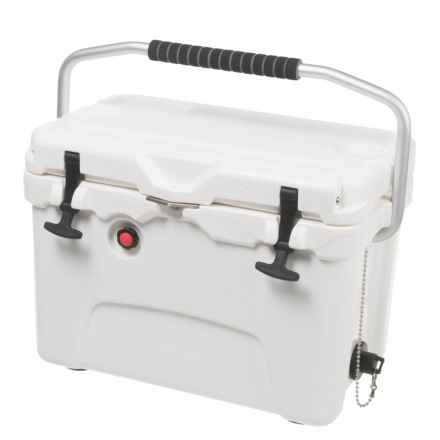 Logo Brands Plain White Aspen Cooler - 20 qt. in White - Closeouts