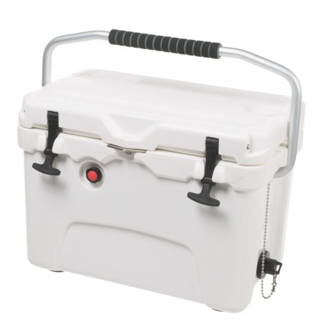 Logo Brands Plain White Aspen Cooler - 20 qt. in White