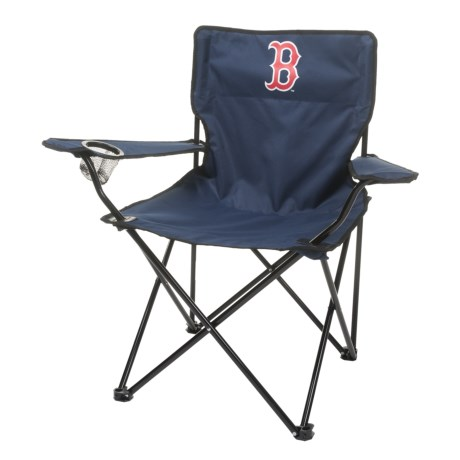 Logo Brands Red Sox Quad Chair in Red Sox